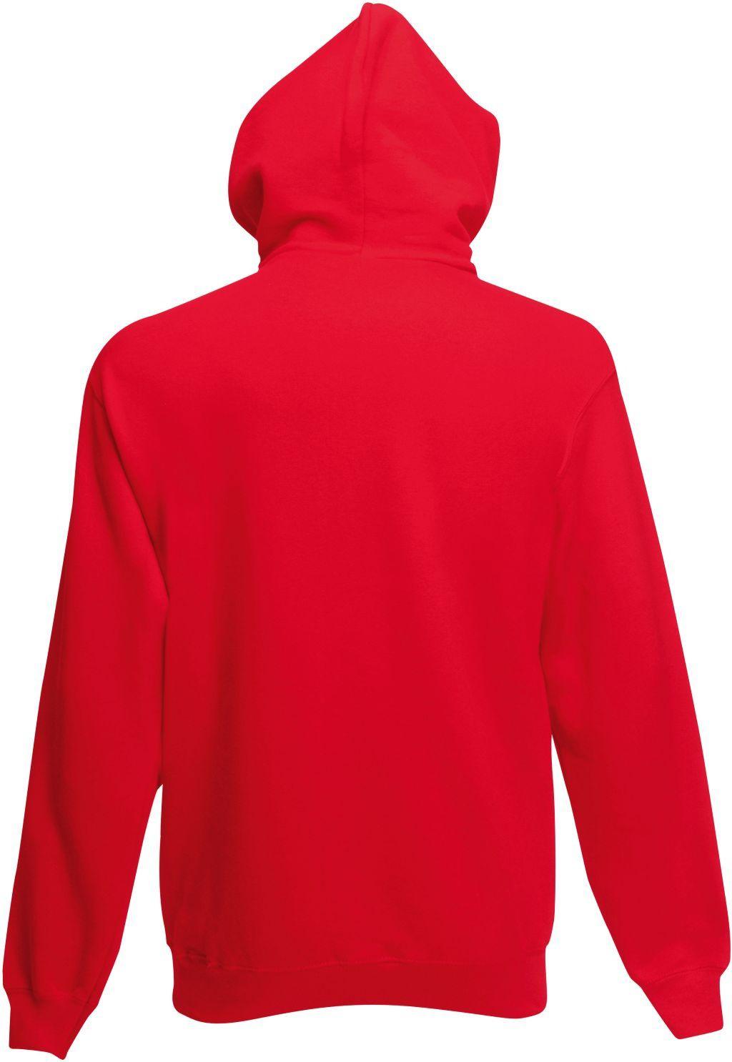 0d802f2ba63e Bluza męska rozpinana z kapturem Premium Czerwona L    Fruit Of The Loom