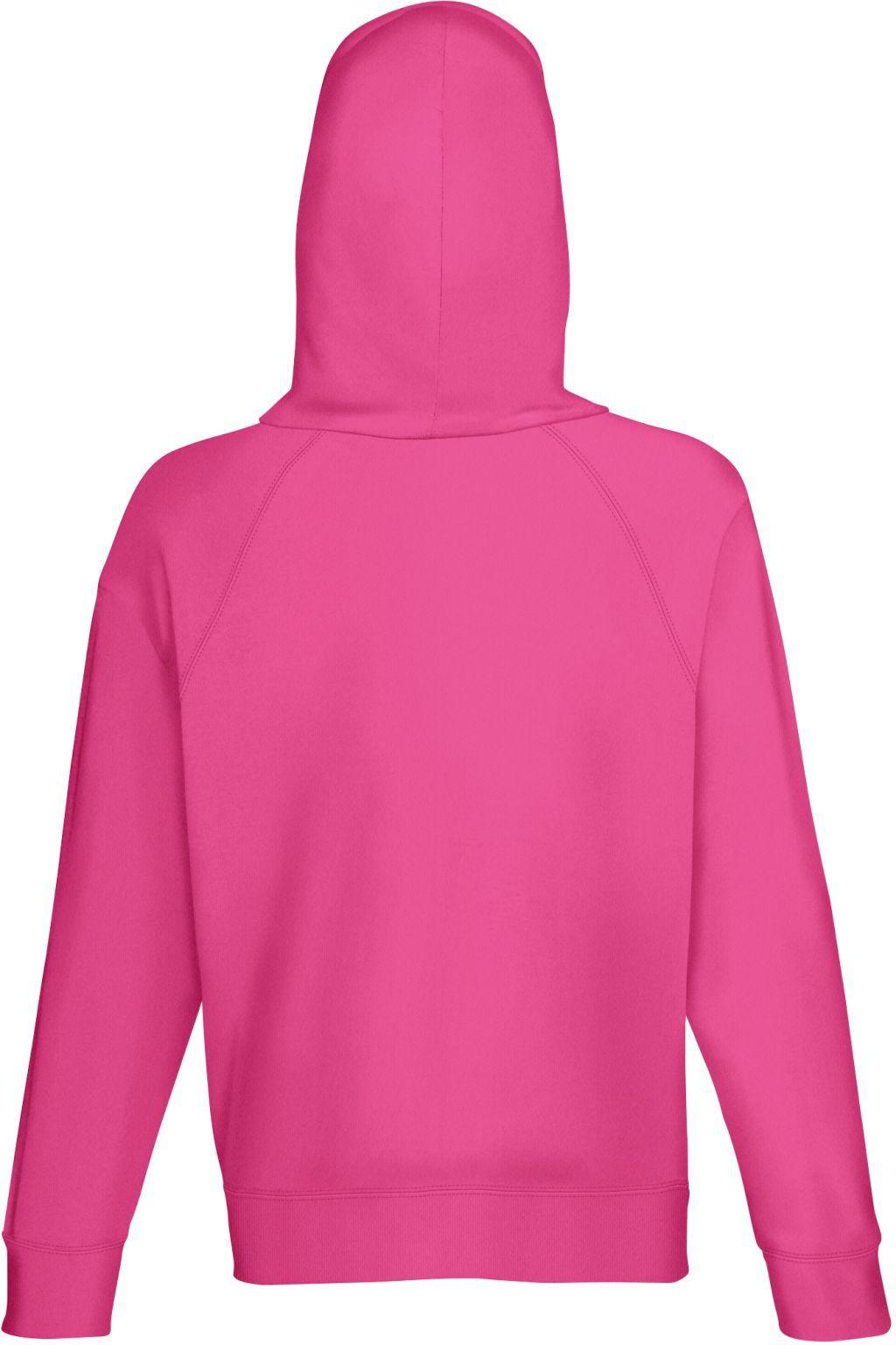 bluza męska z kapturkiem rózowa lekko